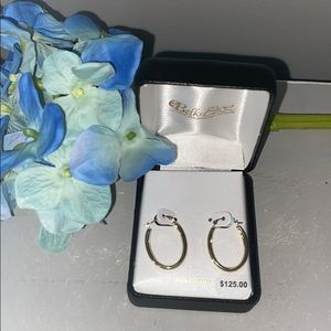 Belk & CO 14K gold earrings